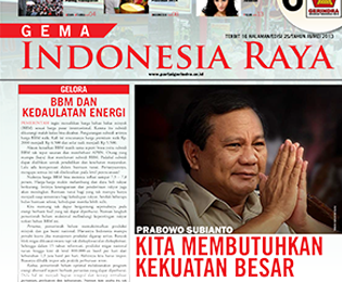 Tabloid Gema Indonesia Raya Edisi 25