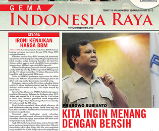 Tabloid Gema Indonesia Raya Edisi 26